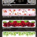 Каталог изображений для стеновых панелей (стекло)